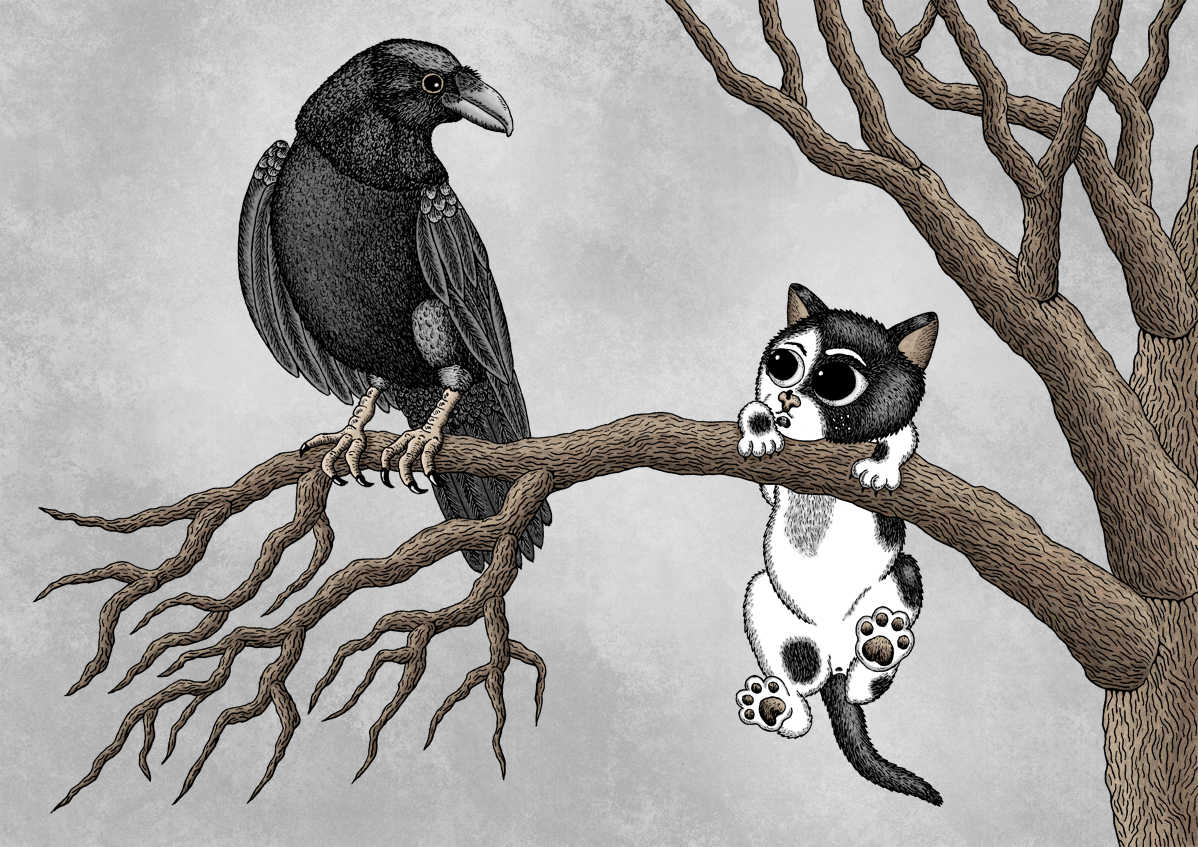 Memento Mori: Quoth The Raven by Jenny Bommert, 2015