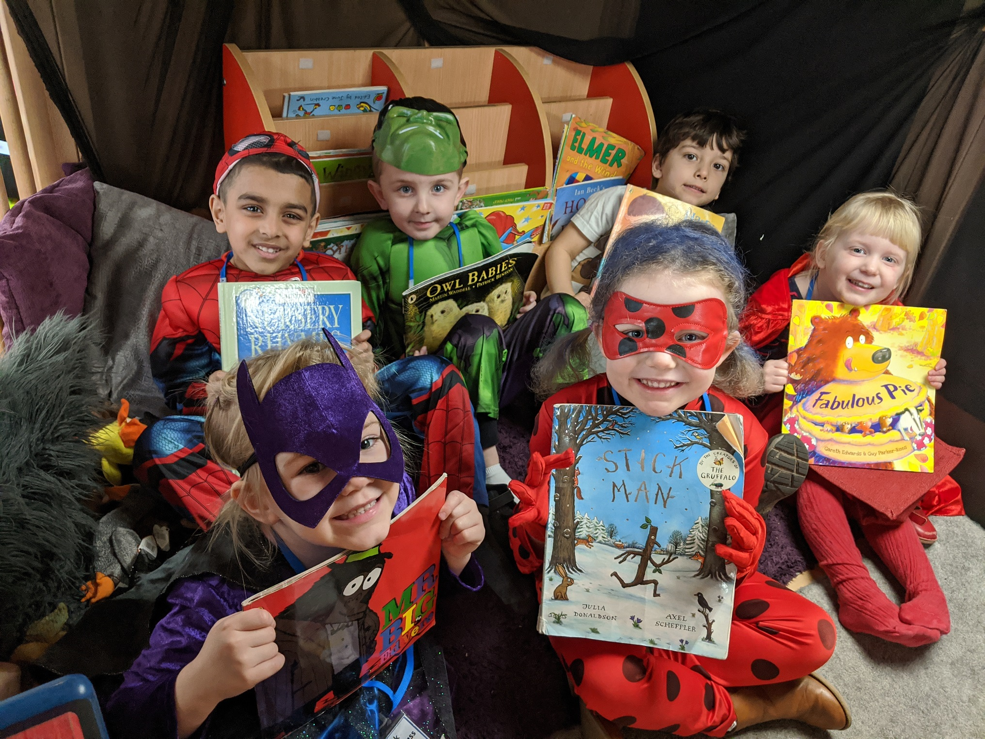 World Book Day Celebrated at Holy Trinity School