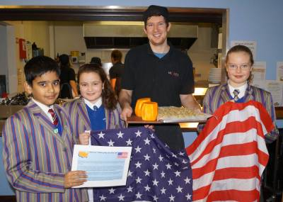 Thanksgiving on the menu at Kidderminster school