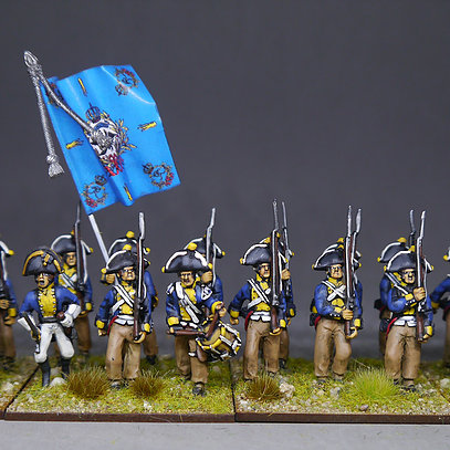 PRUSSIAN MUSKETEER UNIT JENA 1806