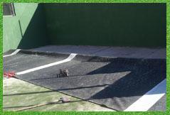reparacion pistas de padel