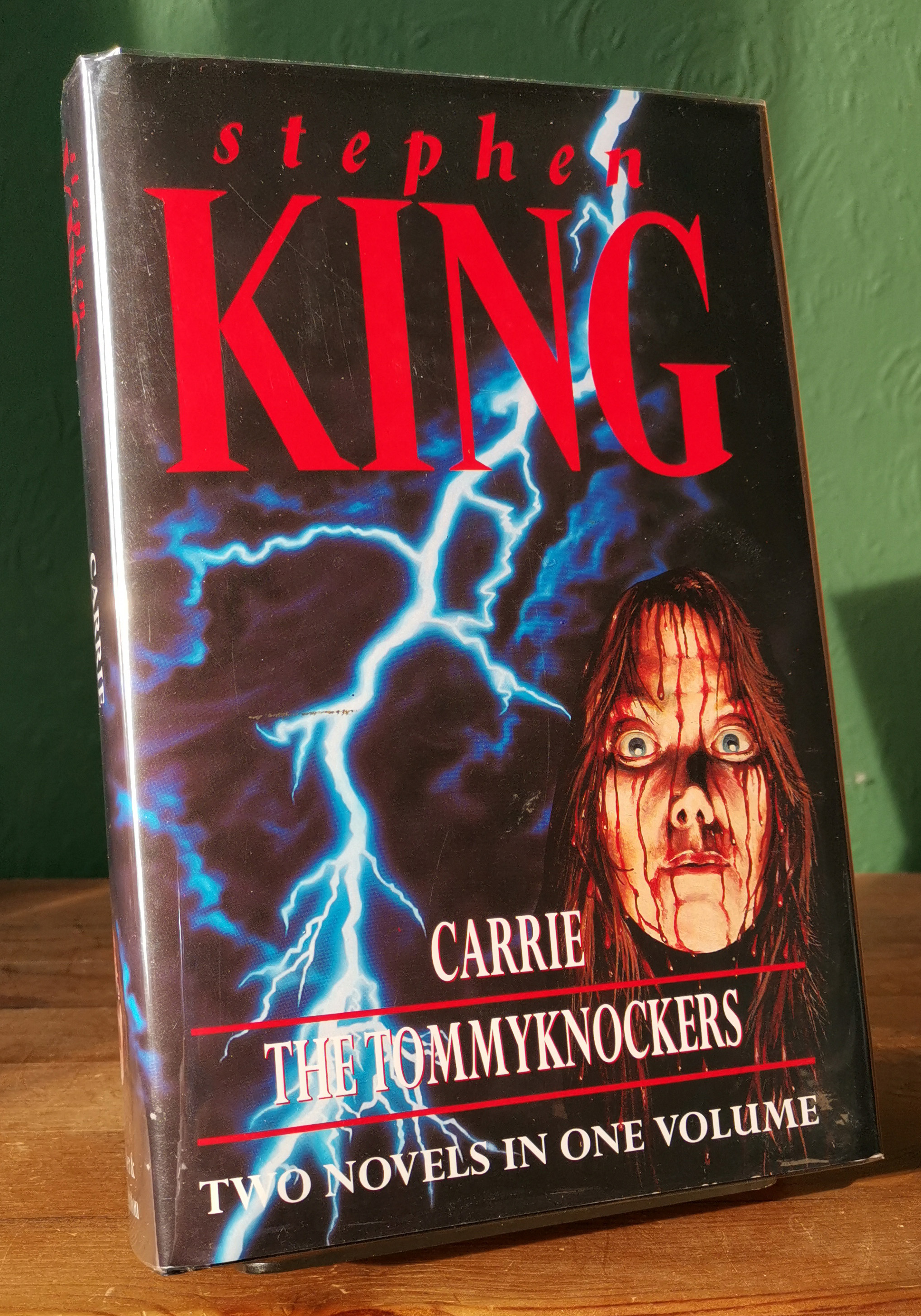 Carrie / The Tommyknockers UK 1st Edition