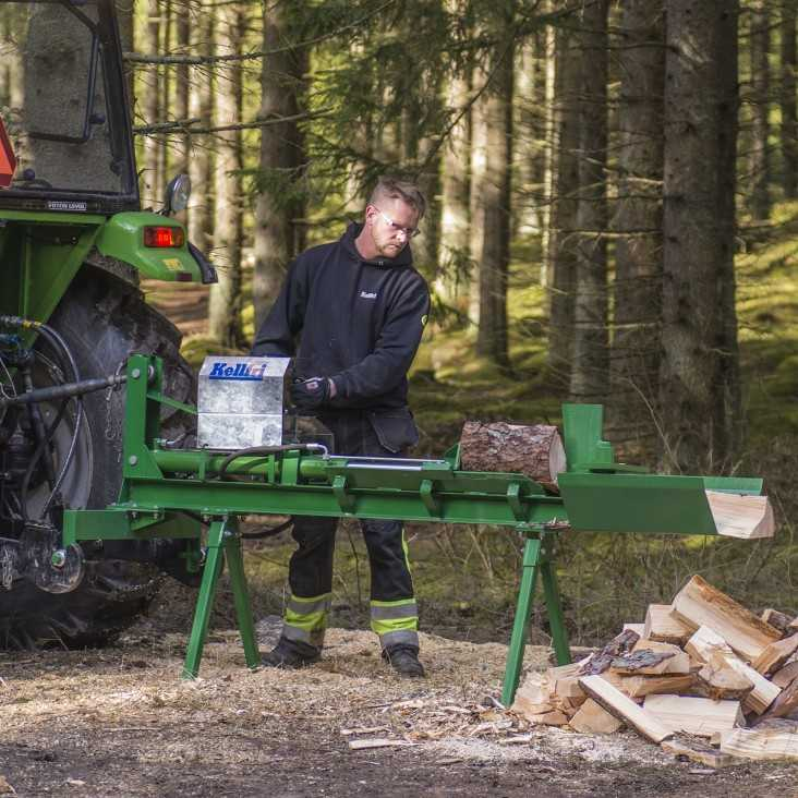 Tractor driven log splitter 70cm