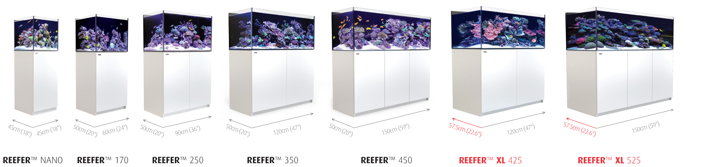 REEFER XXL 750 Glass Aquarium