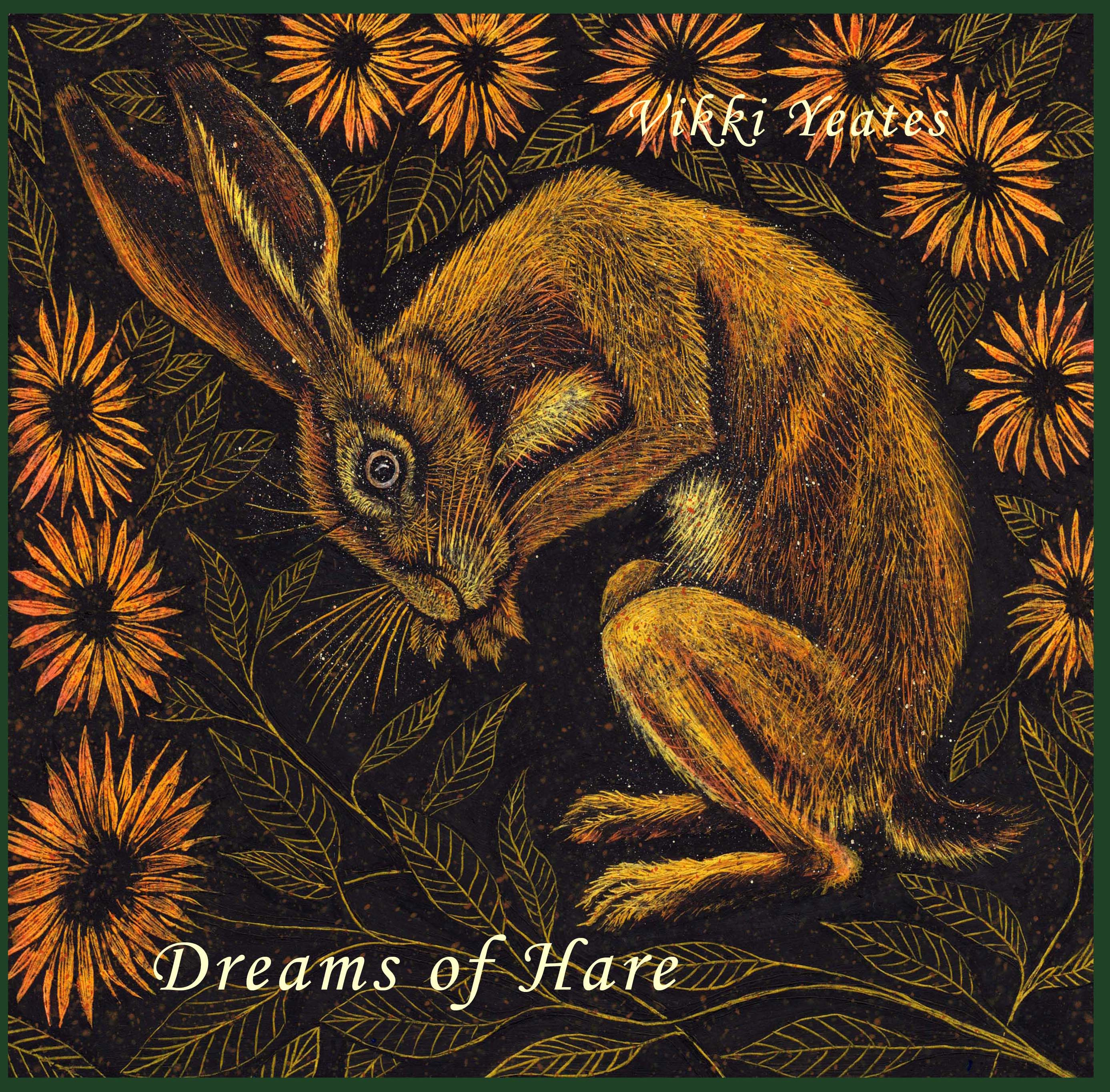 My new hardcover book - 'Dreams of Hare'