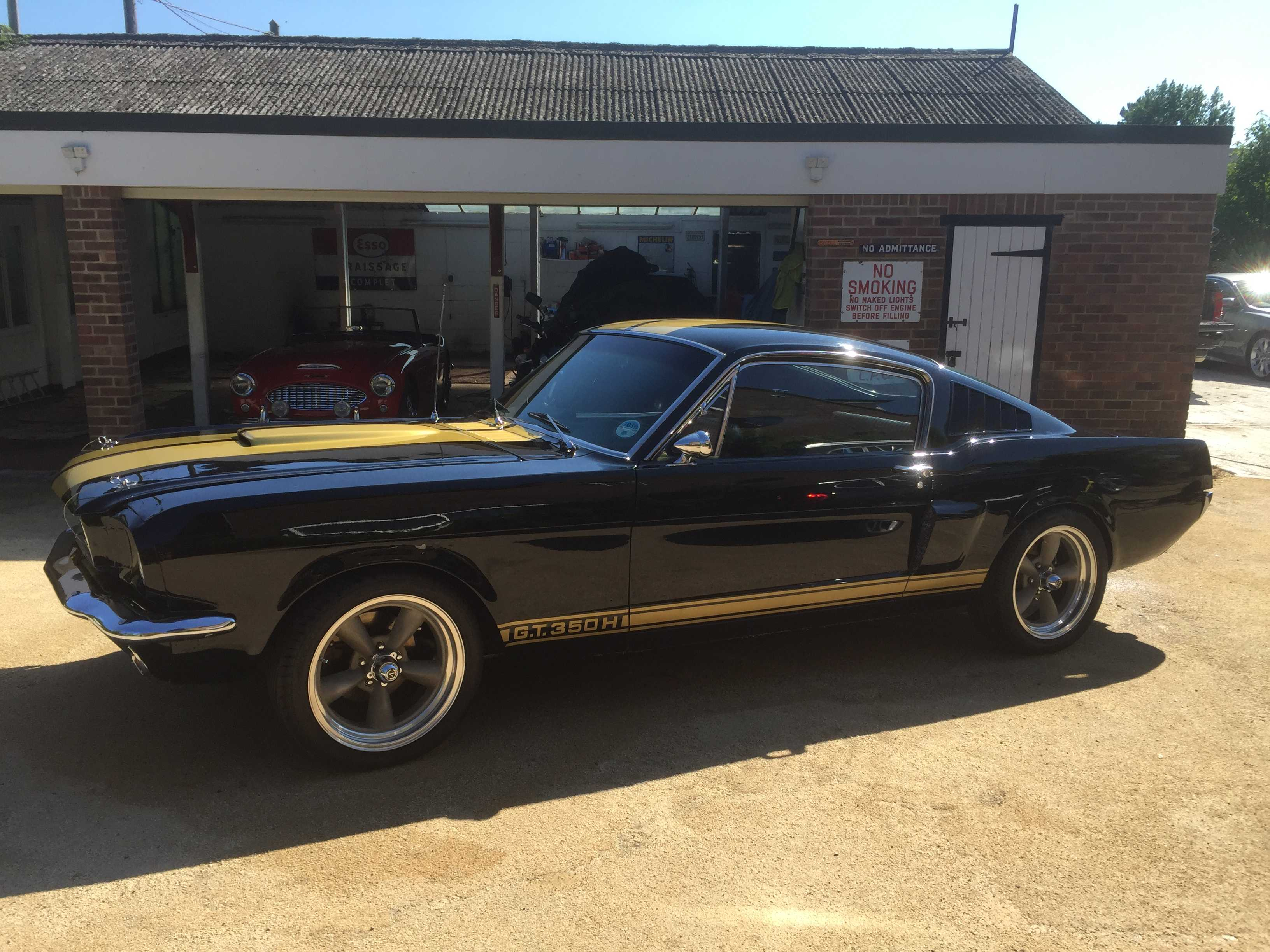 1965 Ford Mustang GT350H Recreation