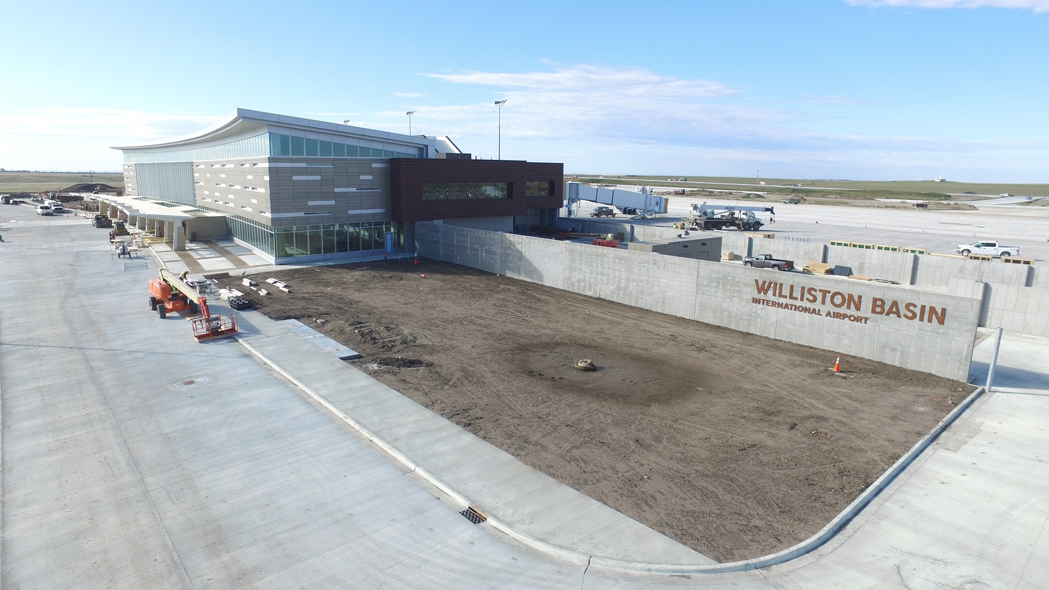 The new Williston Basin Int/KXWA, North Dakota almost ready