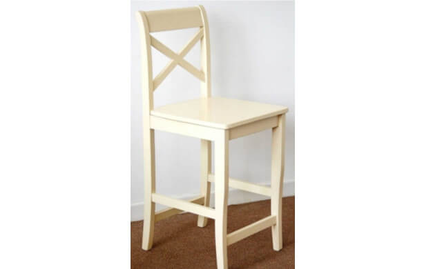 Clermont Cream Stool