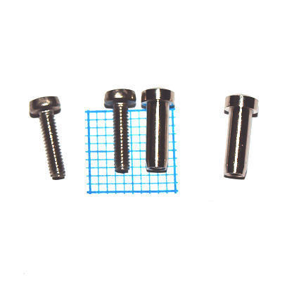 Cover Screws Set Size 2 100632 Fits for rounded coverplates (SESSION, FAVORITE).