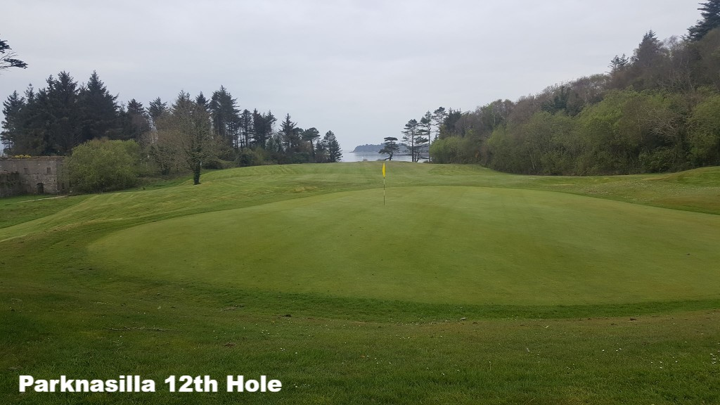 The 12th Hole at Parknasilla Golf Course, County Kerry, Ireland
