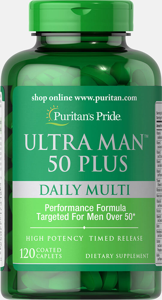 Multivaitamínico Ultra Man 50+ 120 tbs