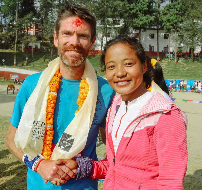 Congratulations from Mira Rai (Nepal 2016)