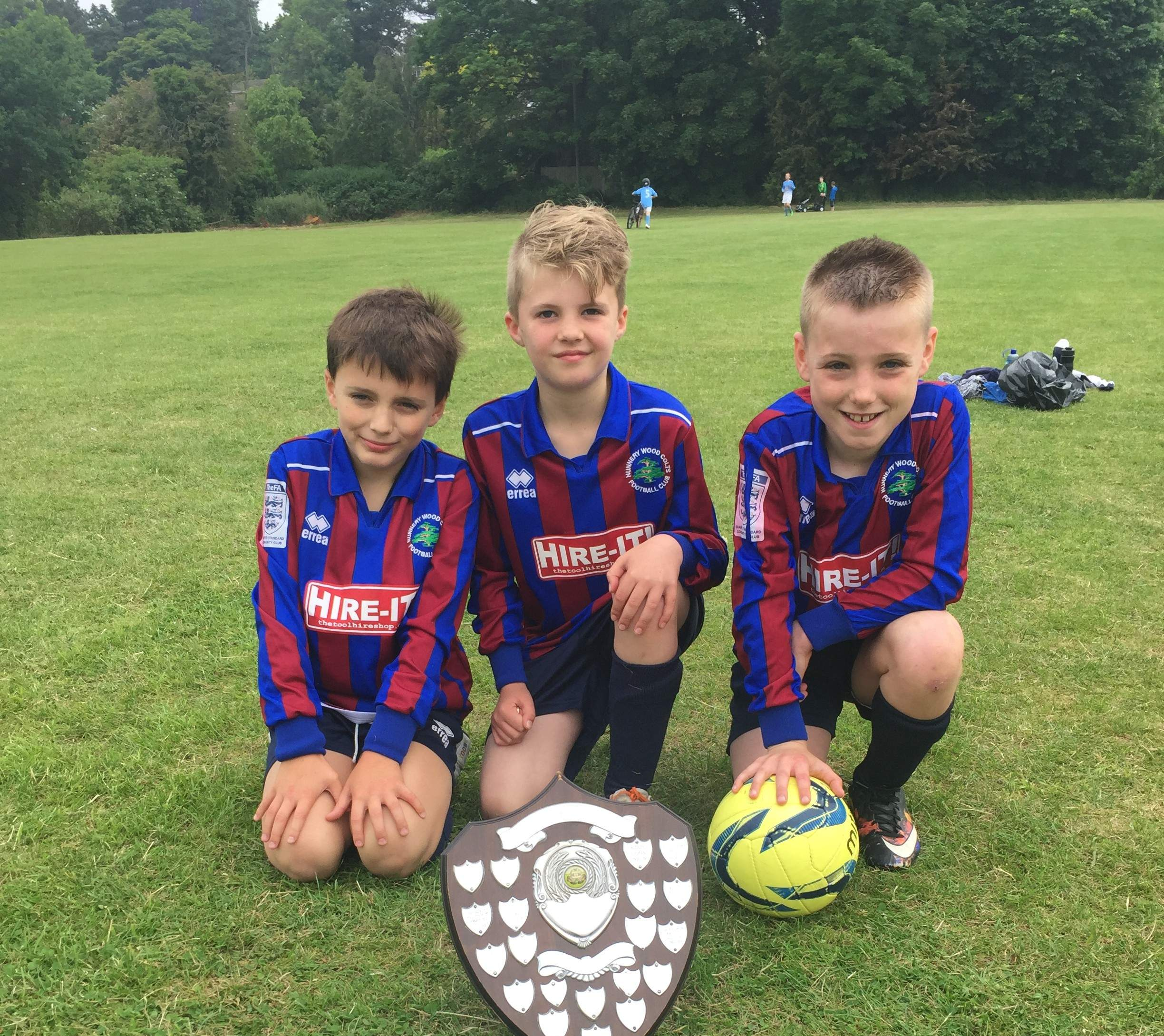 Students Awarded Stourport League's Fair Play Award