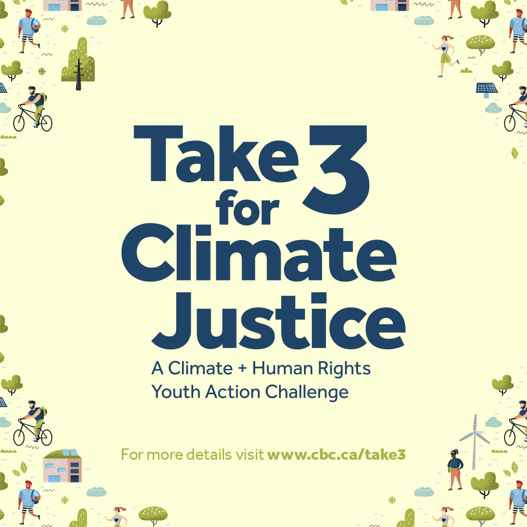 Take 3 for Climate Justice