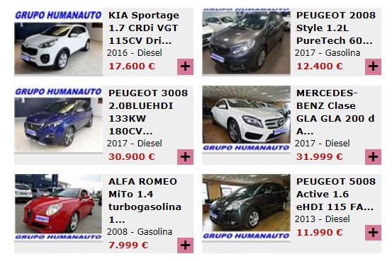 Venta coches ocasion madrid baratos