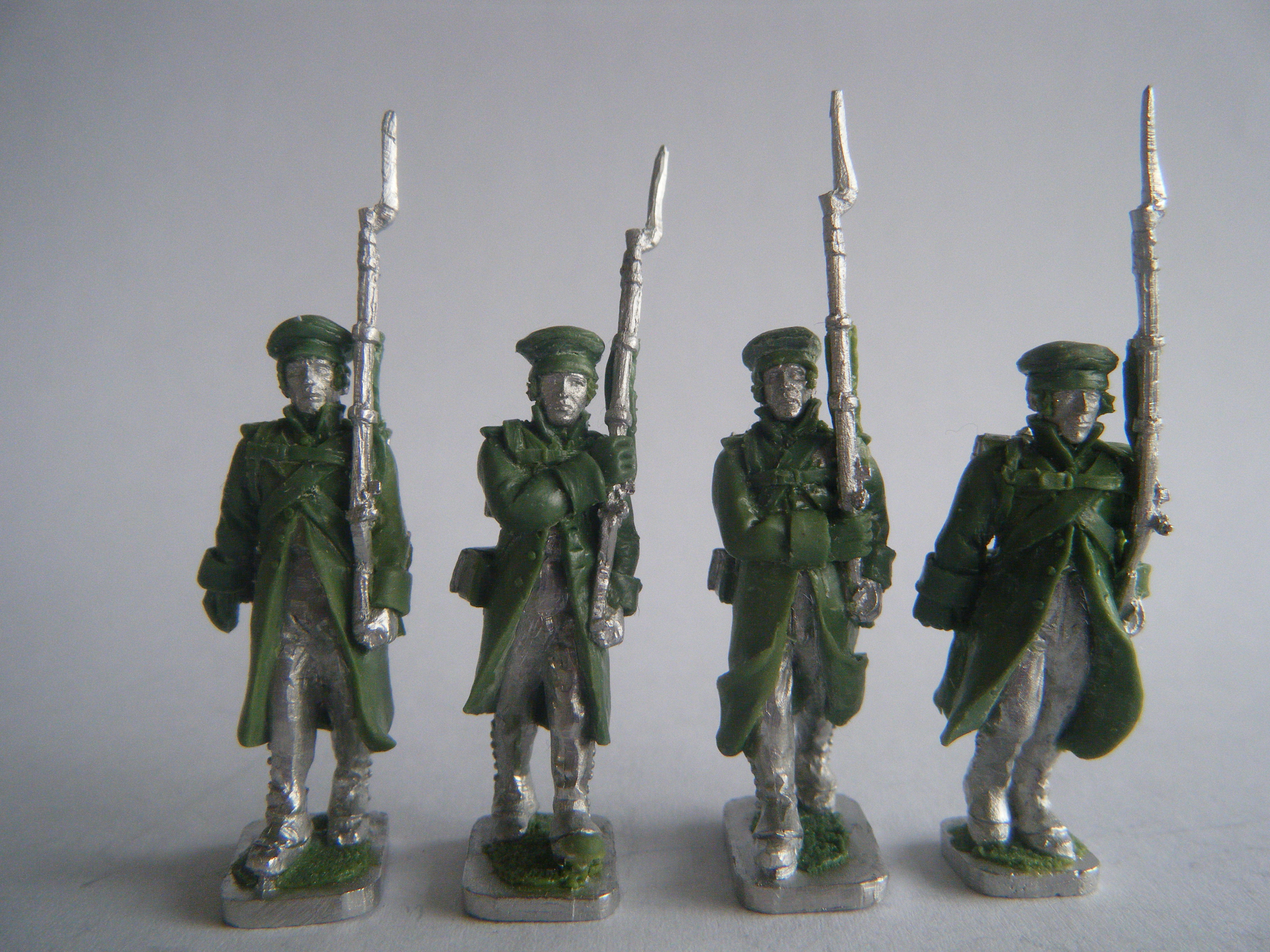 NAPOLEONIC RUSSIANS IN GREATCOATS