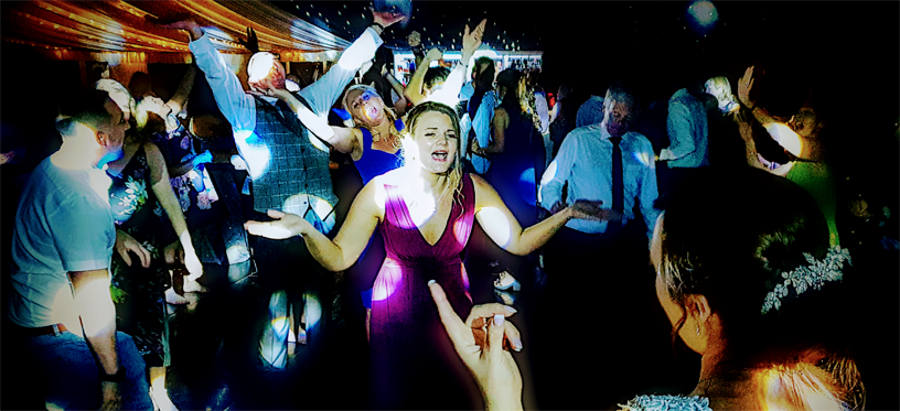 Cambridge Wedding Disco - Chippenham Park