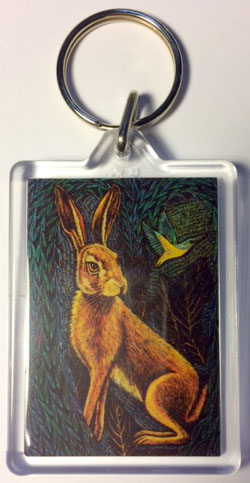 'The Hare at Dark Hollow' keyring