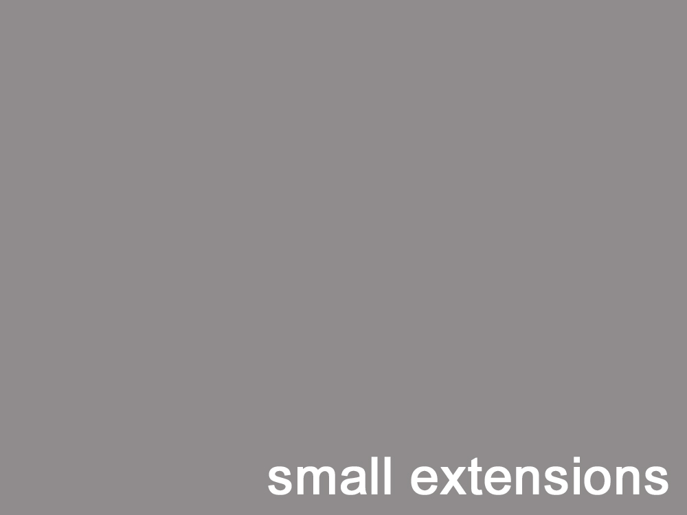 Small Extensions