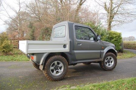 suzuki jimny pickup 4x4 pickup. Black Bedroom Furniture Sets. Home Design Ideas
