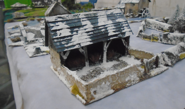 ARDENNE OPEN BARN BATTLE OF THE BULGE