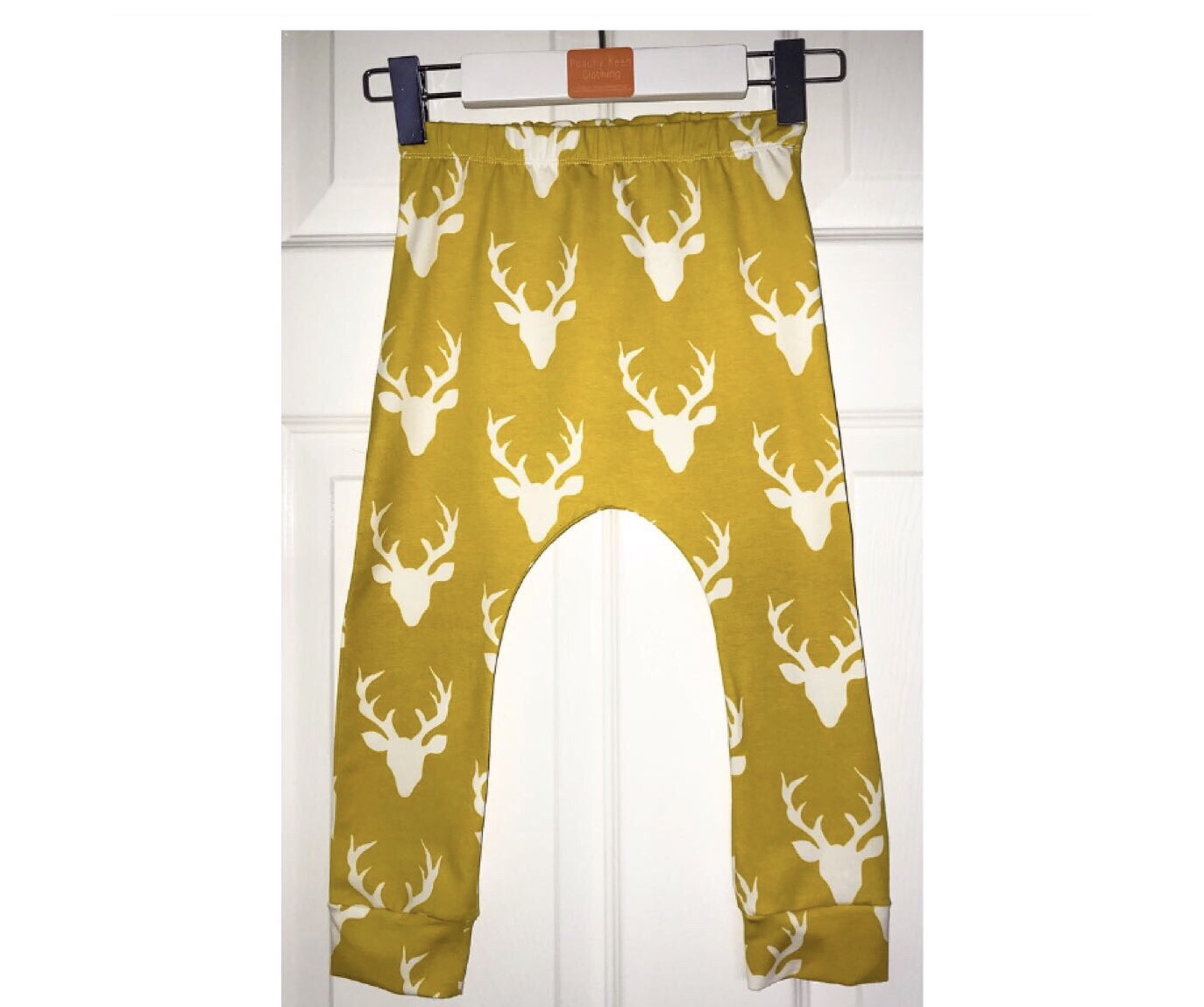 Mustard Stag Leggings