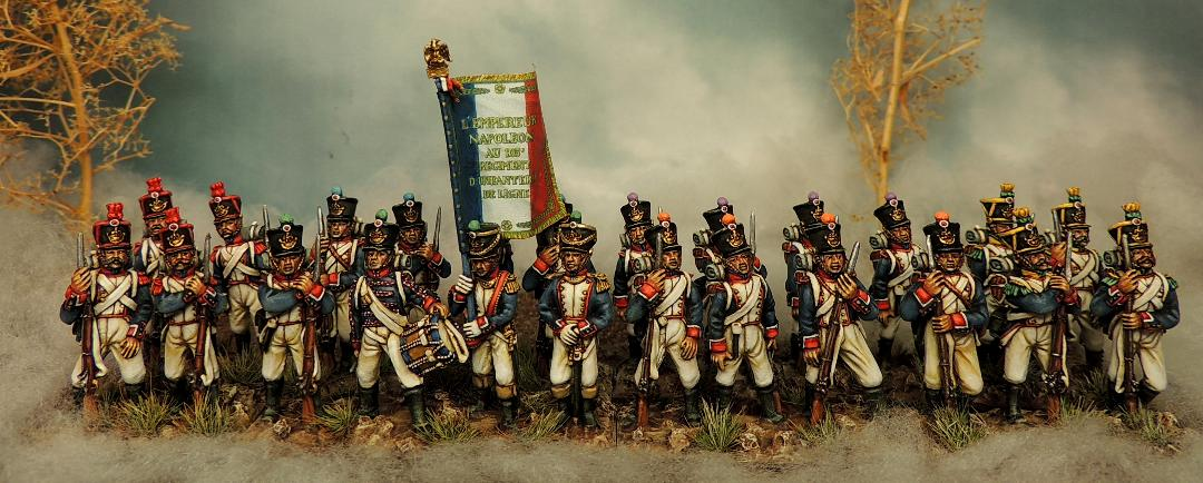 Waterloo French Fusiliers In Full Dress