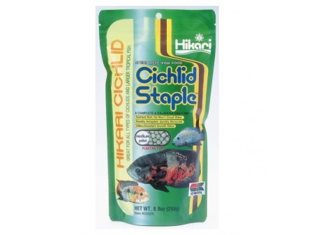 Hikari Cichlid Staple Medium Pellets 250g