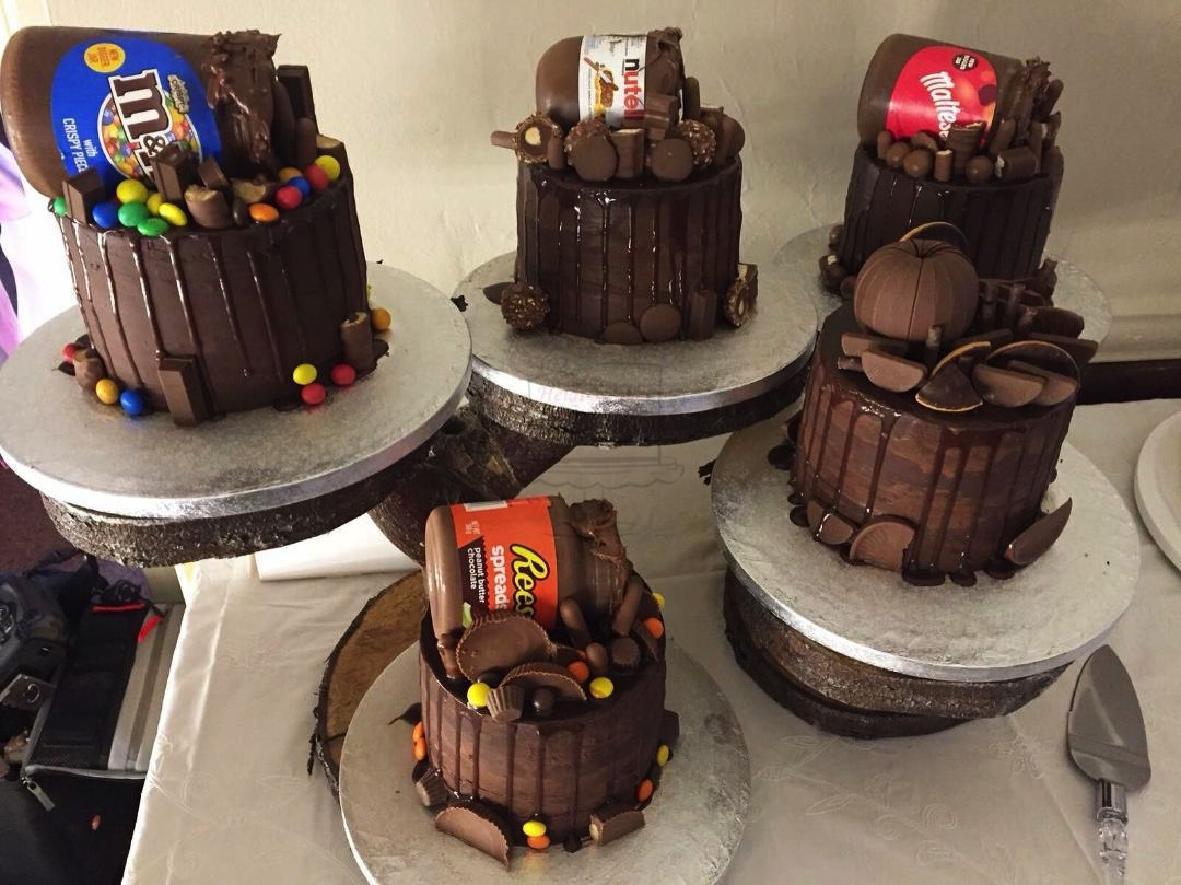 Chocolate Drip Cake Series