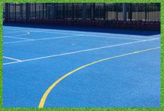 instalación pista tenis pavimento poroso