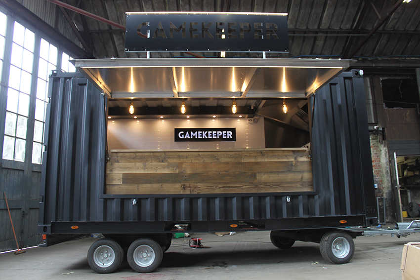 Shipping Container Trailer >> Home Page