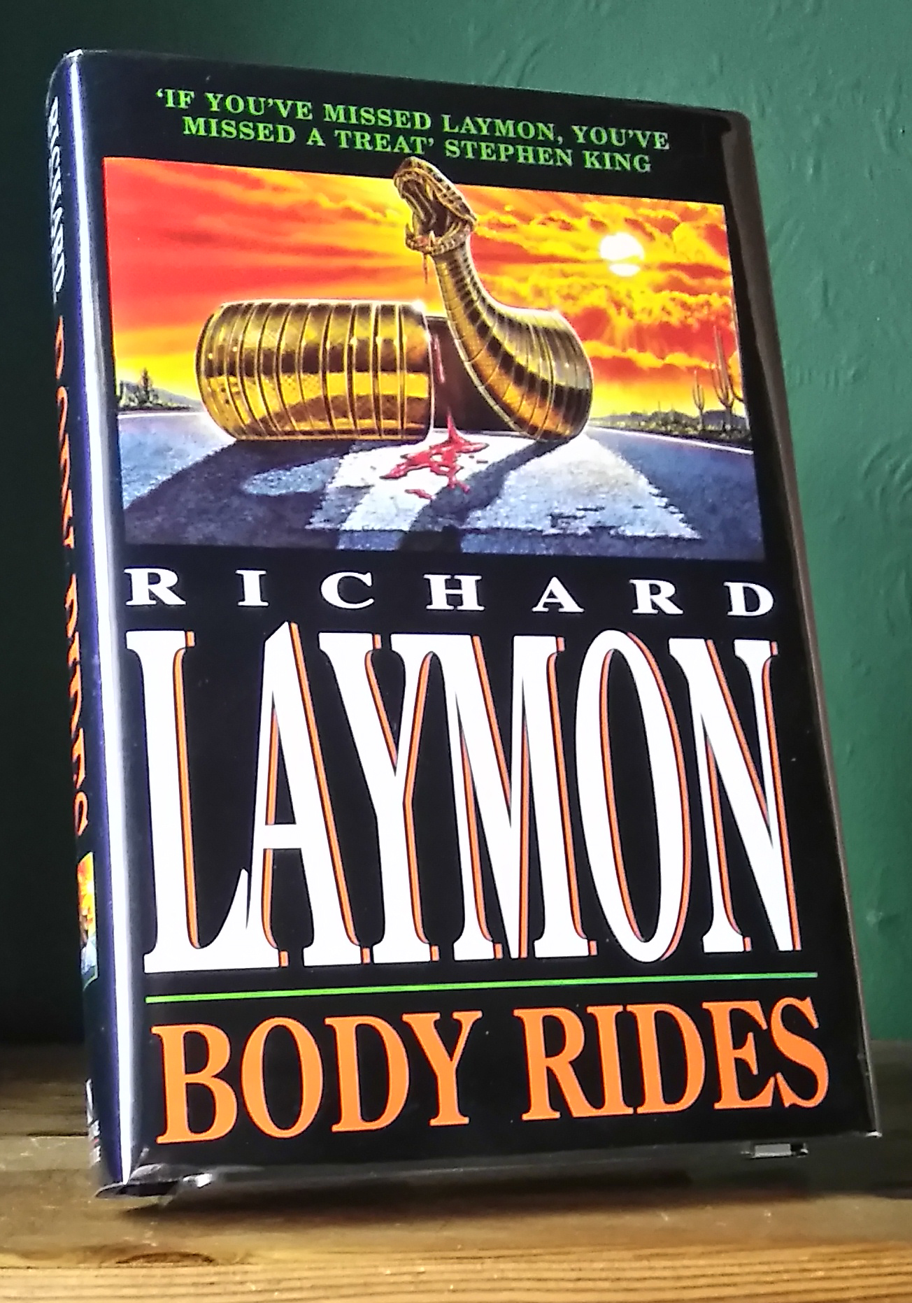 Body Rides Signed UK First Edition