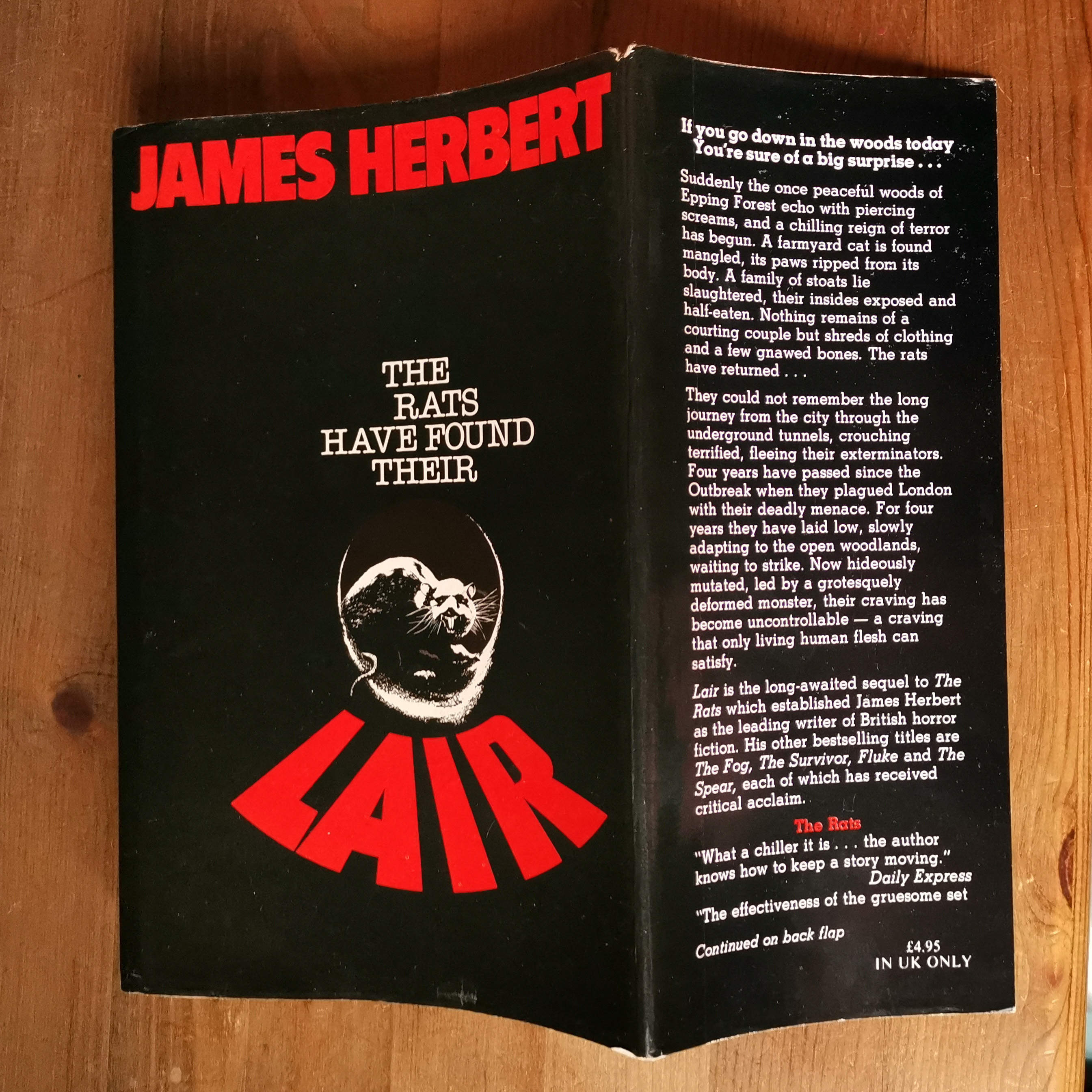 Lair UK First Edition