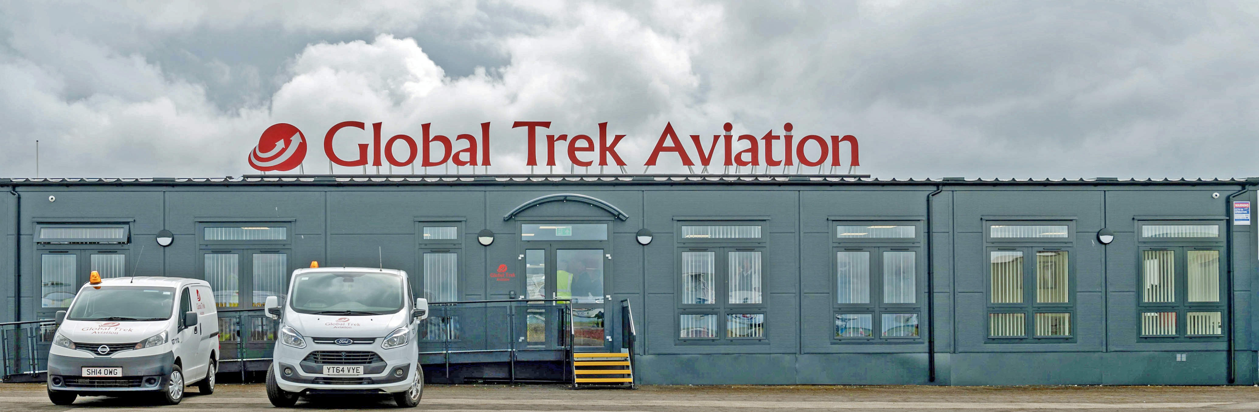 Global Trek Aviation - Official Opening of Executive Jet Centre, Cardiff International