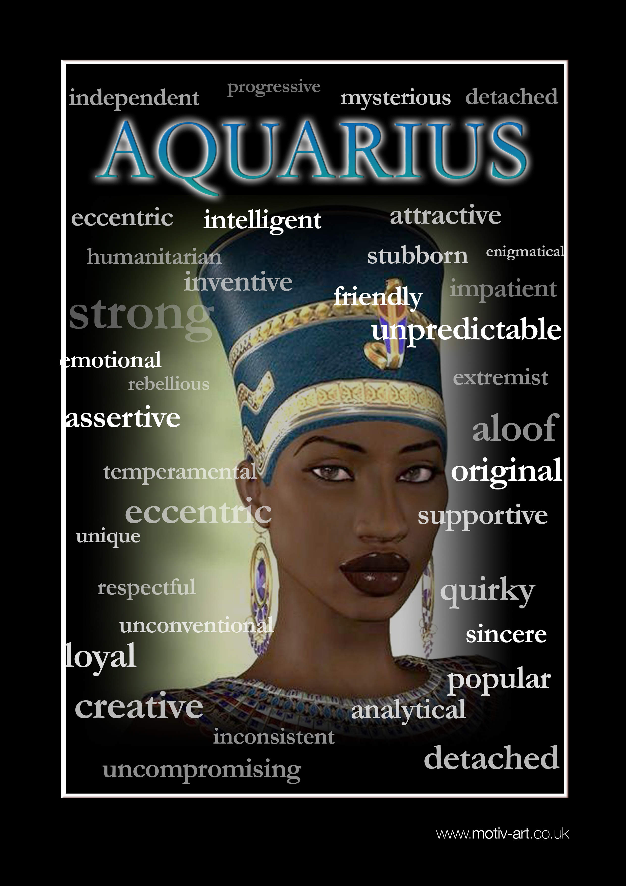 Aquarius 21 Jan - 19 Feb
