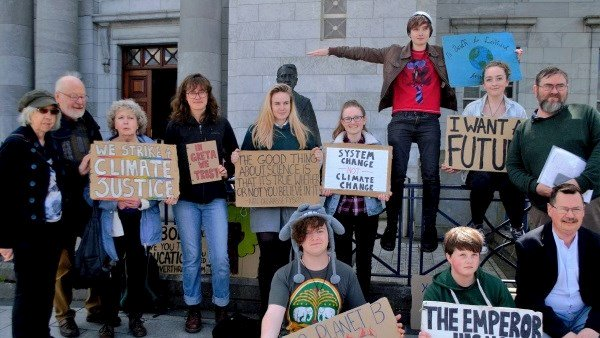 Green generations: Elders for the Earth join forces with green teens