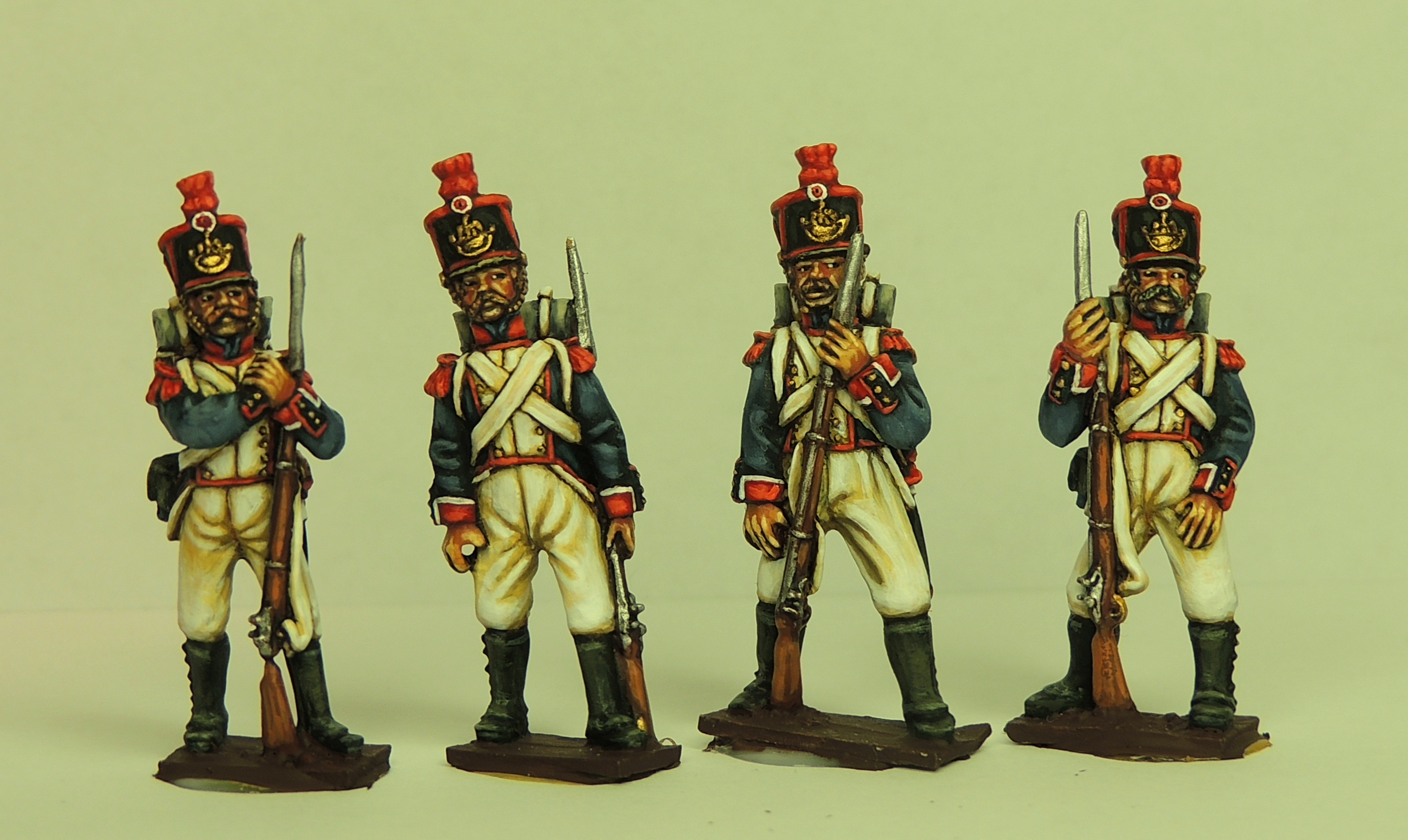 Waterloo French Grenadiers/Voltiguers  In Full Dress