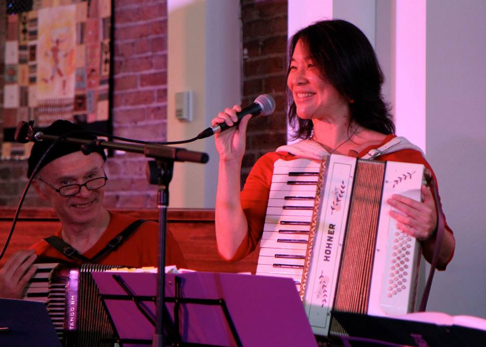 Performing with the Vancouver Squeezebox Circle