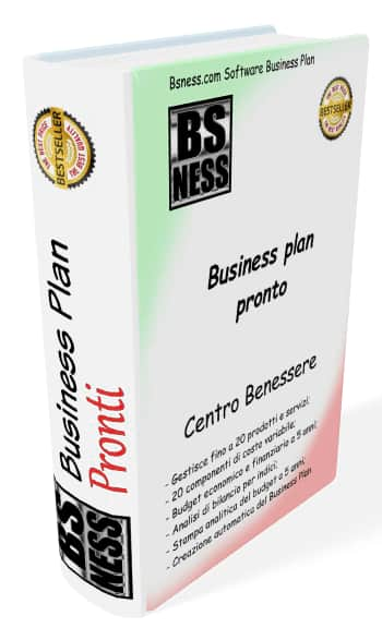 Business plan Centro Benessere