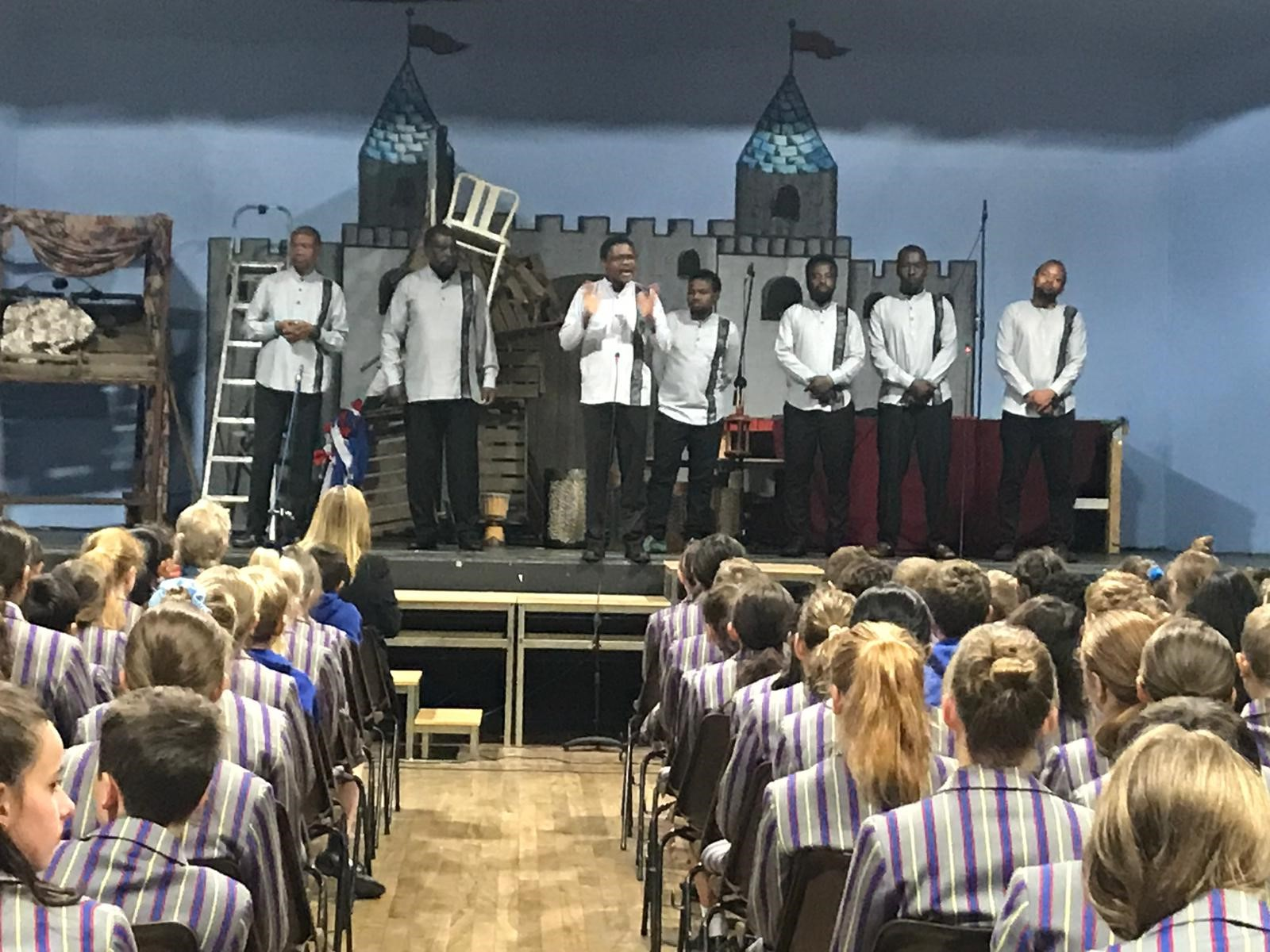 New Life Band from Tanzania Perform for Students at Kidderminster School