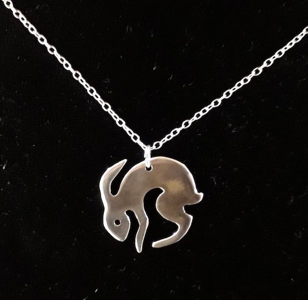 Moon Hare (sterling silver)