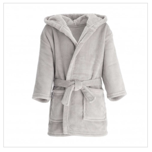Personalised Grey Dressing Gown