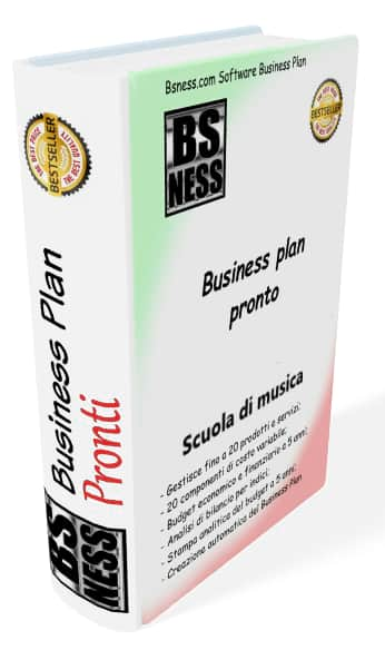 Business plan Scuola di musica