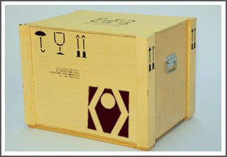 fabricación embalajes obras de arte