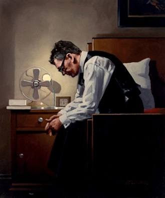 Jack Vettriano The Weight