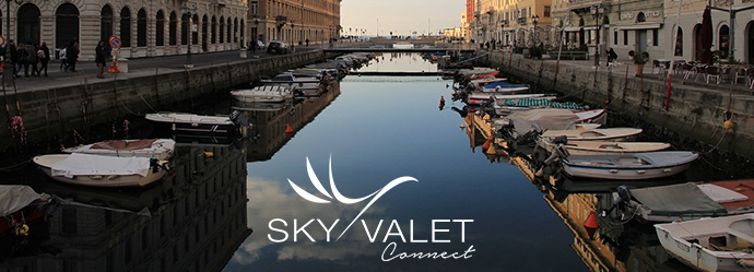 Skyvalet Connect FBO Network in Italy Trieste/LIPQ