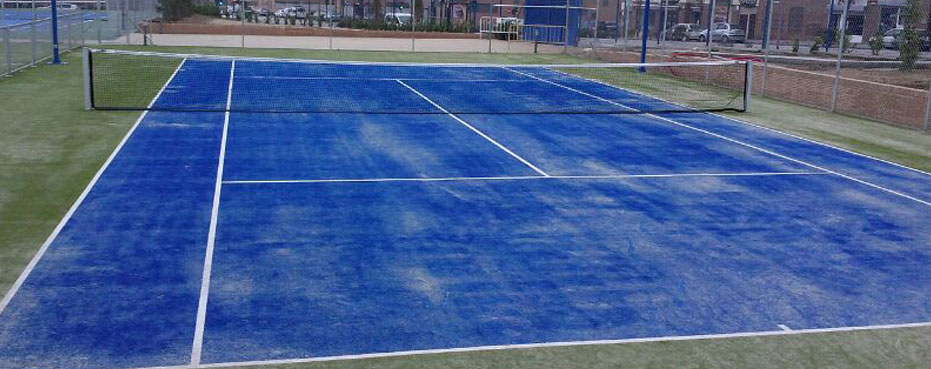Empresas reparacion pistas tenis madrid