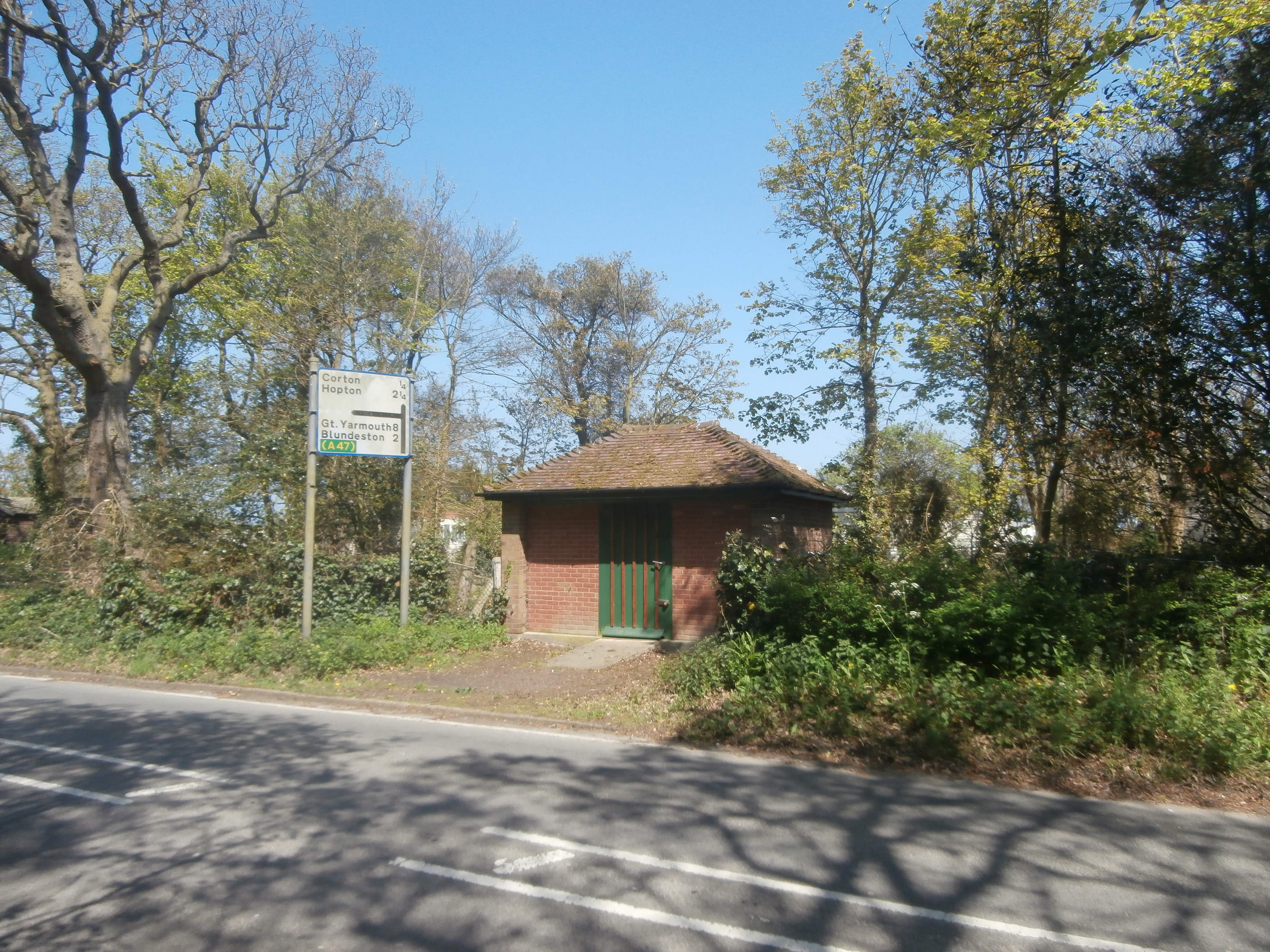 The Old Bus Shelter