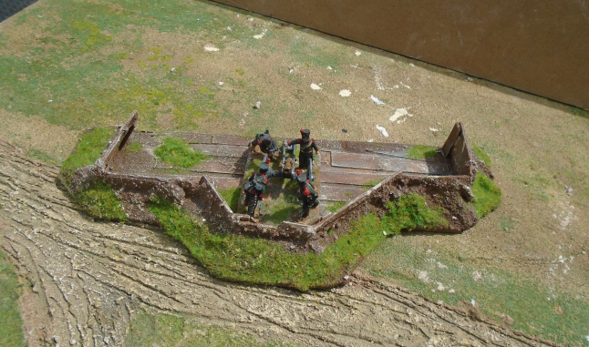 EARTHWORKS  SUITABLE FOR BOLT ACTION WW2 NAPOLEONIC
