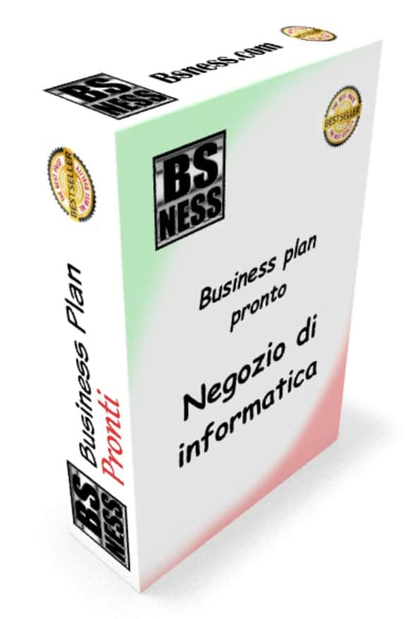Business plan Negozio di informatica